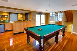 venue with pool table